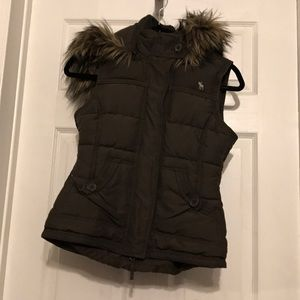 Abercrombie kids vest